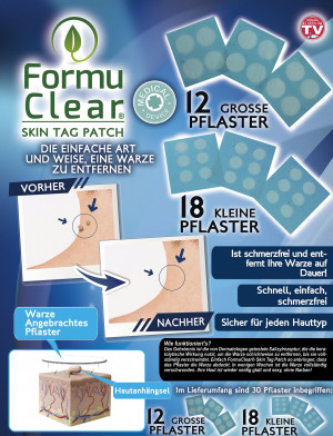 Formu Clear Skin Tag Patch - assortment of 30 pieces - wart plasters