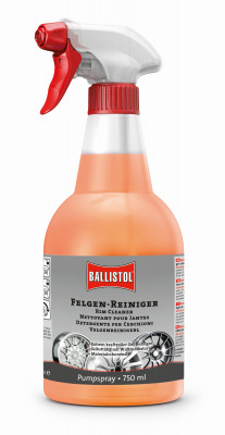 BALLISTOL rim cleaner with color indicator, 750ml - removes the most stubborn dirt