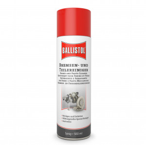 BALLISTOL brake and parts cleaner, 500ml - removes oil, grease, glue residues and much more