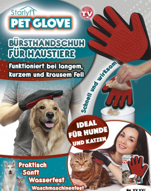 Pet Glove - The brush glove for your pet