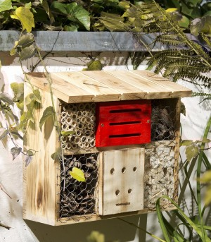 Insect hotel - bee hotel - nesting aid for useful insects