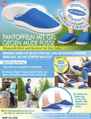 Stepluxe Gel Comfort - size 35/36 - incredibly relaxed walking & standing!
