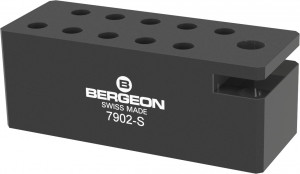 Base for screwdrivers and quick-change adapter Bergeon