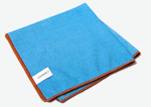 The EXCELLENT Copper+ Microfiber Cloth - one of the best dishwashing and cleaning cloths - hygienic