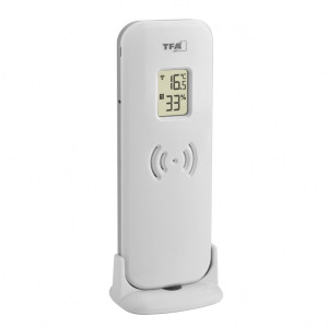External transmitter for radio weather stations 360678, 343732, 356208, 335514, 339871, 360686