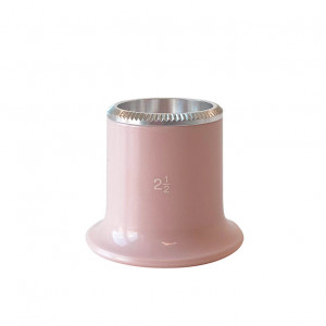 Watchmaker's loupe 2.5x biconvex lens Bergeon - special edition in pink