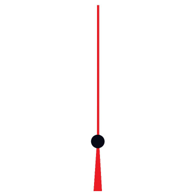 Second hand battery movements thread red/black HSL:100mm