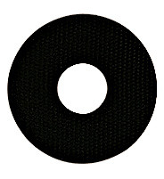 Washer rubber 1 mm, central hole Ø: 11 exterior Ø: 30