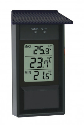 Max.-Min.-Thermometer for indoor and outdoor
