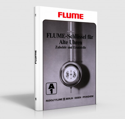 Flume key for old clocks - accessories and spare parts - A1