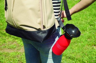 Doggy Bottle - the portable water bottle for your dog