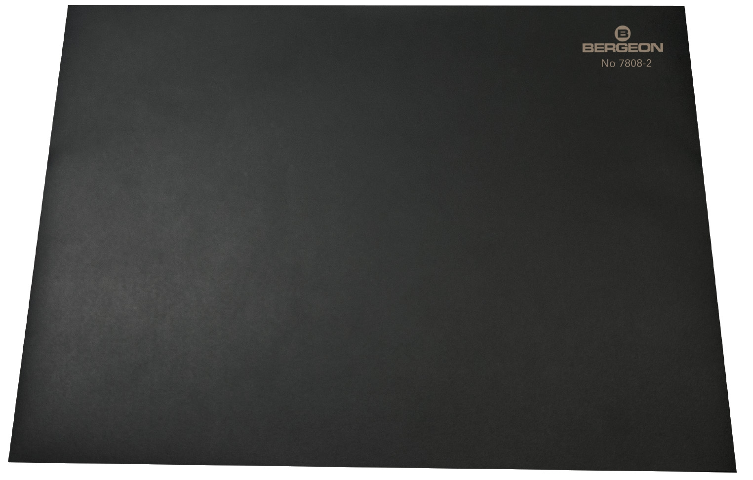 Worktop, black, slip-resistant Bergeon