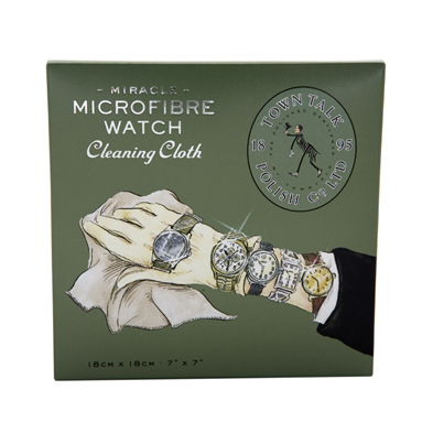 Cleaning cloth for watches