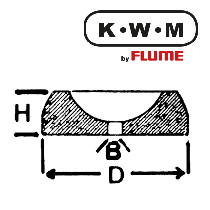 KWM-press-fit bearings brass KL214, hole Ø 0.13 outside Ø 1.20 height 0.40 mm, capacity 10.00 Unit