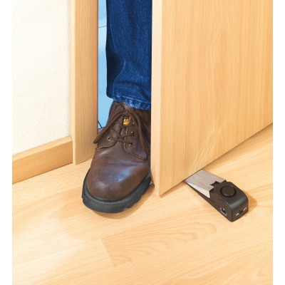 Door wedge with alarm function