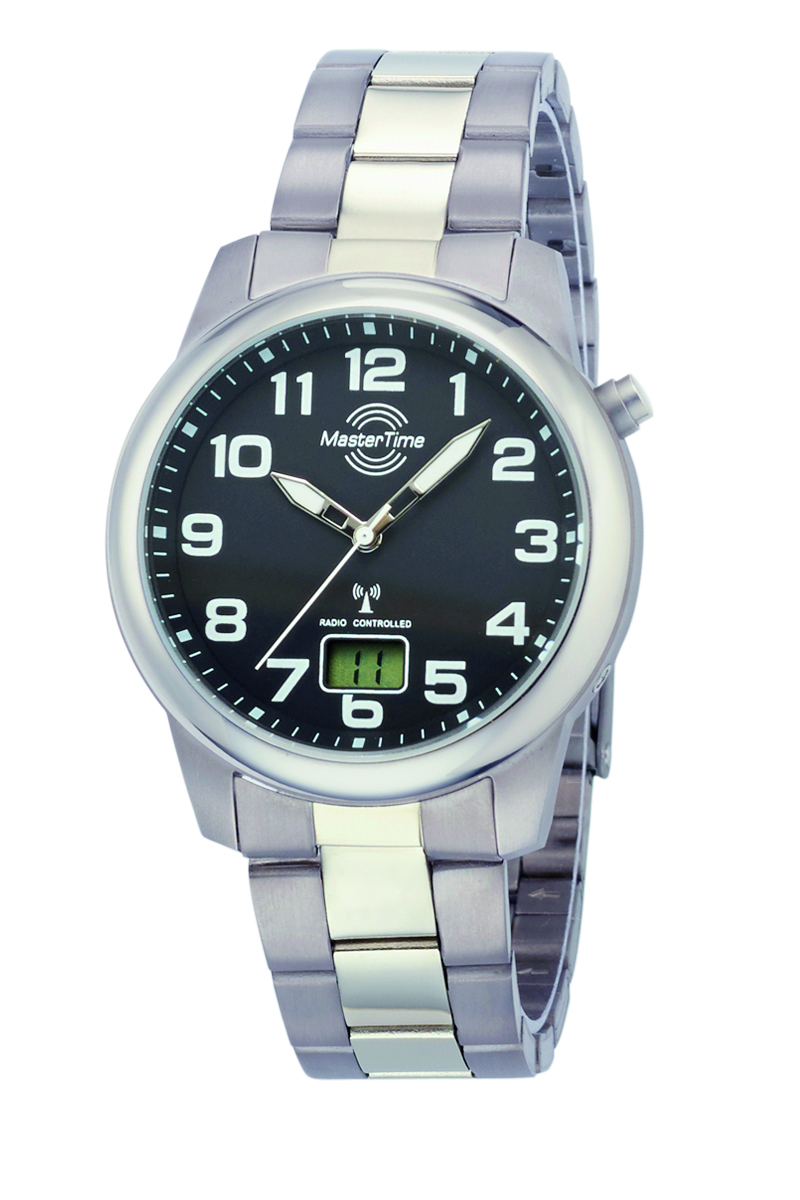 Radio controlled watch Titaniu Ø 41mm, black dial