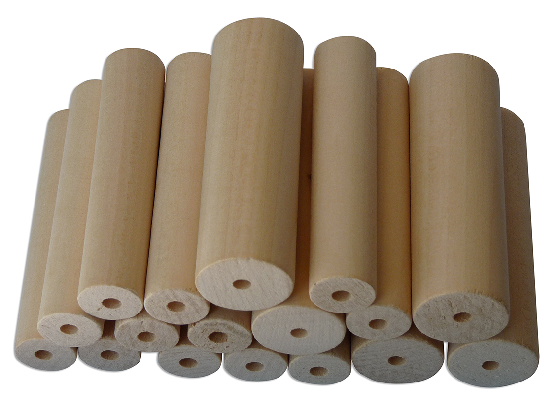 PLAYMAT Woodturning Lime 24 pieces