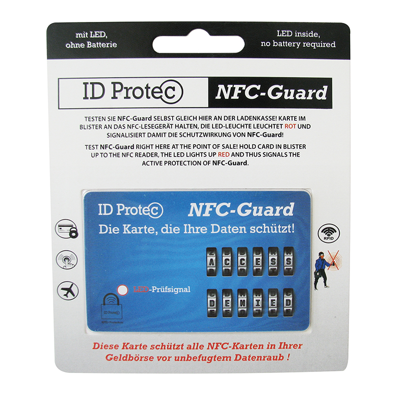 ID Protec Safety Card with LED light