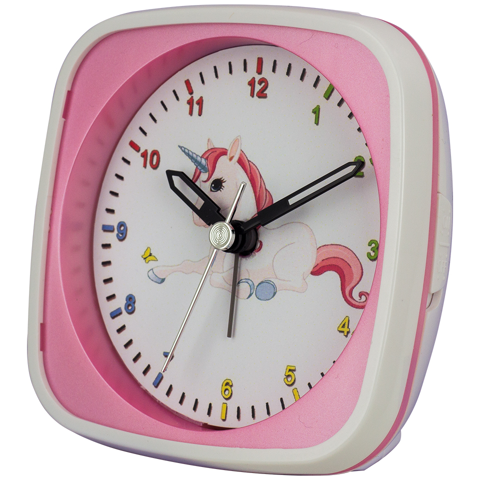 Children's Alarm Clock Unicorn, sweeping second