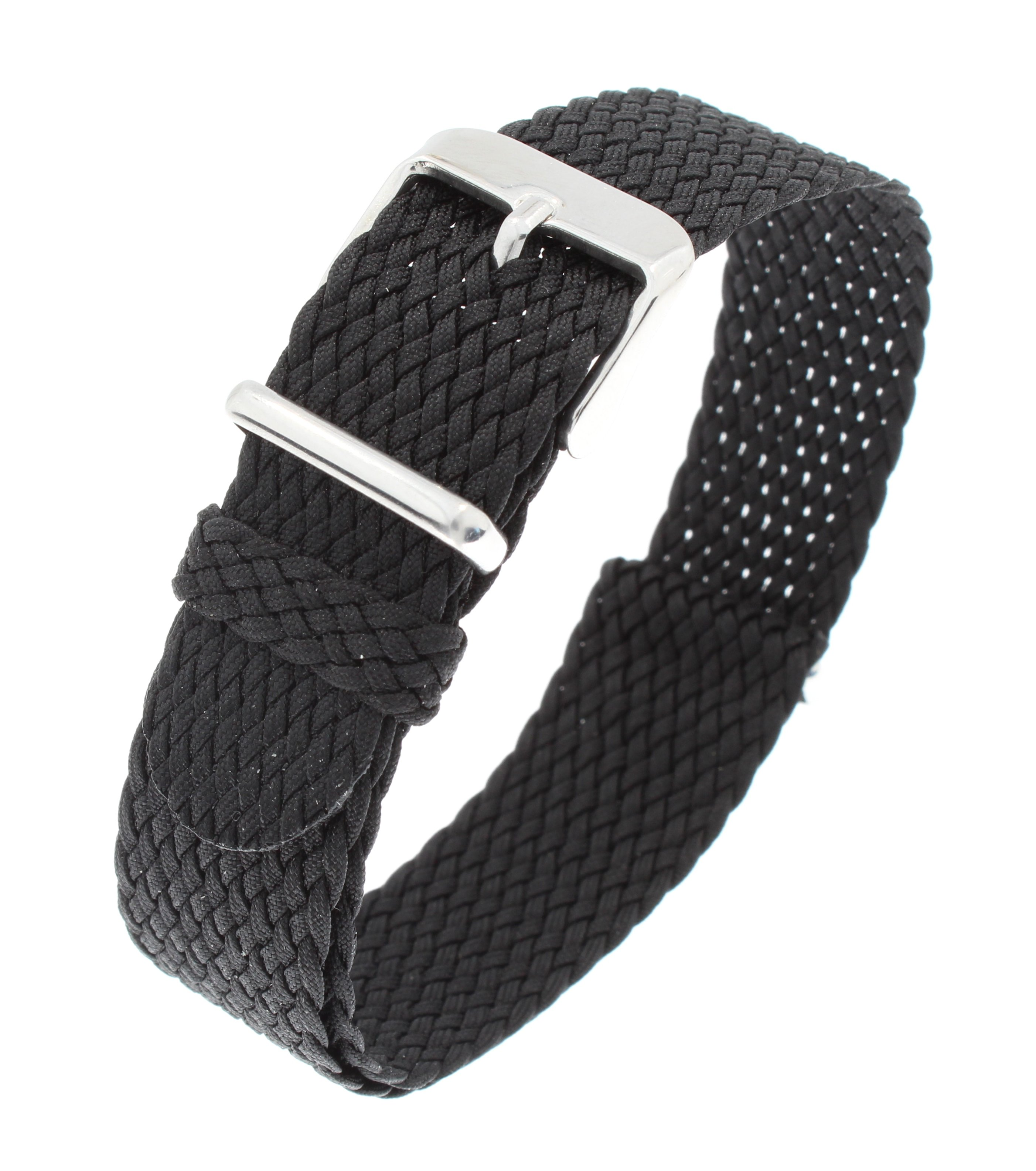 Nato perlon strap black 18mm