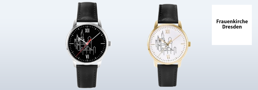 Dresdner Frauenkirche watches (Church of our lady)