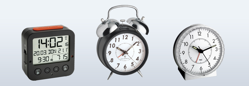 Alarm Clocks, Timers and Miniature Clocks