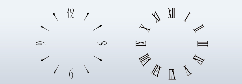 Numeral set